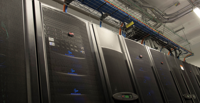A picture from OICR's Data Center