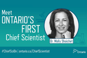 Ontario's First Chief Scientist.