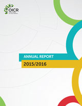 Cover of the English 2015/16 Report