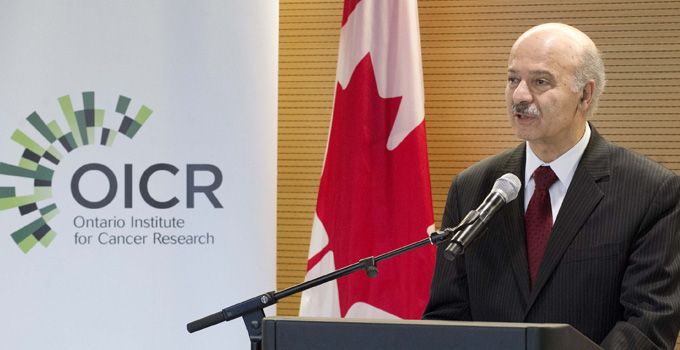 OICR launches five large-scale Ontario research initiatives to combat some of the most deadly cancers