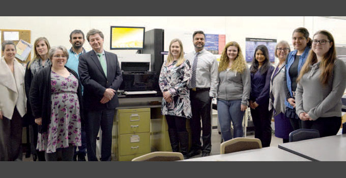 OICR donates sequencer to Fleming College for high-tech training