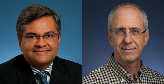 Drs. Amit Oza and Rob Rottapel