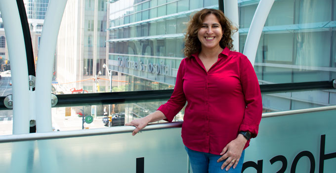 Dr. Rola Saleeb on her path to becoming a pathologist
