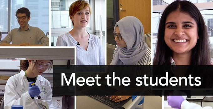 Meet OICR's summer students