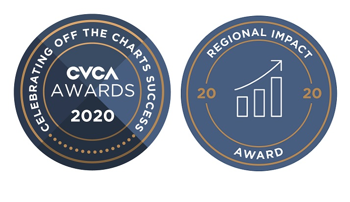 FACIT recognized with 2020 Venture Capital Regional Impact Award by the Canadian Venture Capital & Private Equity Association (CVCA)